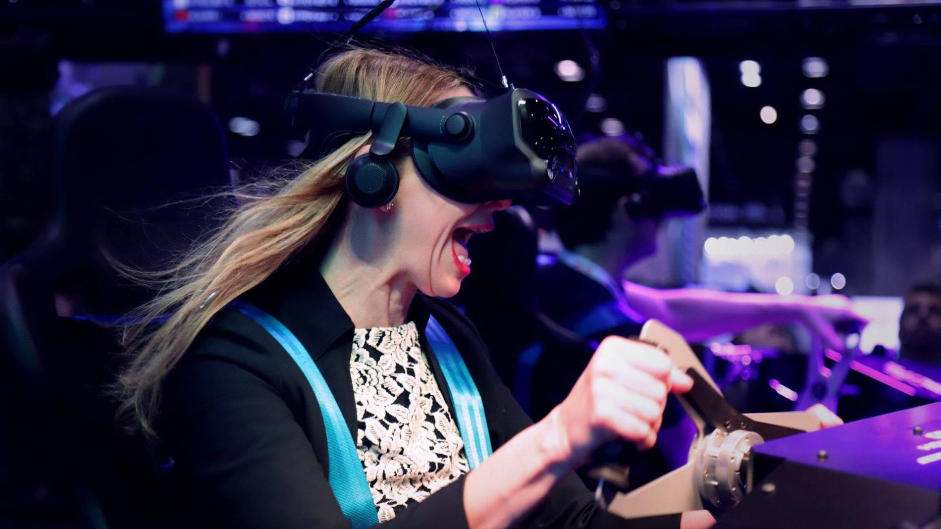 The Ultimate Virtual Reality Motion Simulator!